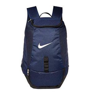 Nike Club Team Backpack EUC Navy Swoosh Ball Bag